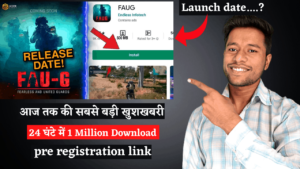 how to pre-registration fau-g game on play store   fauji game release date in india   fauji game download link